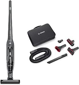 Bosch BBH2P214L Readyyy 2-in-1 - Aspirador sin cable y de mano + Kit de accesorios Home and Car, color gris grafito: Amazon.es: Hogar