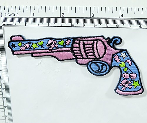sugar-gun-cartoon-embroidered-sew-or-iron-on-patches-by-thunyatorn