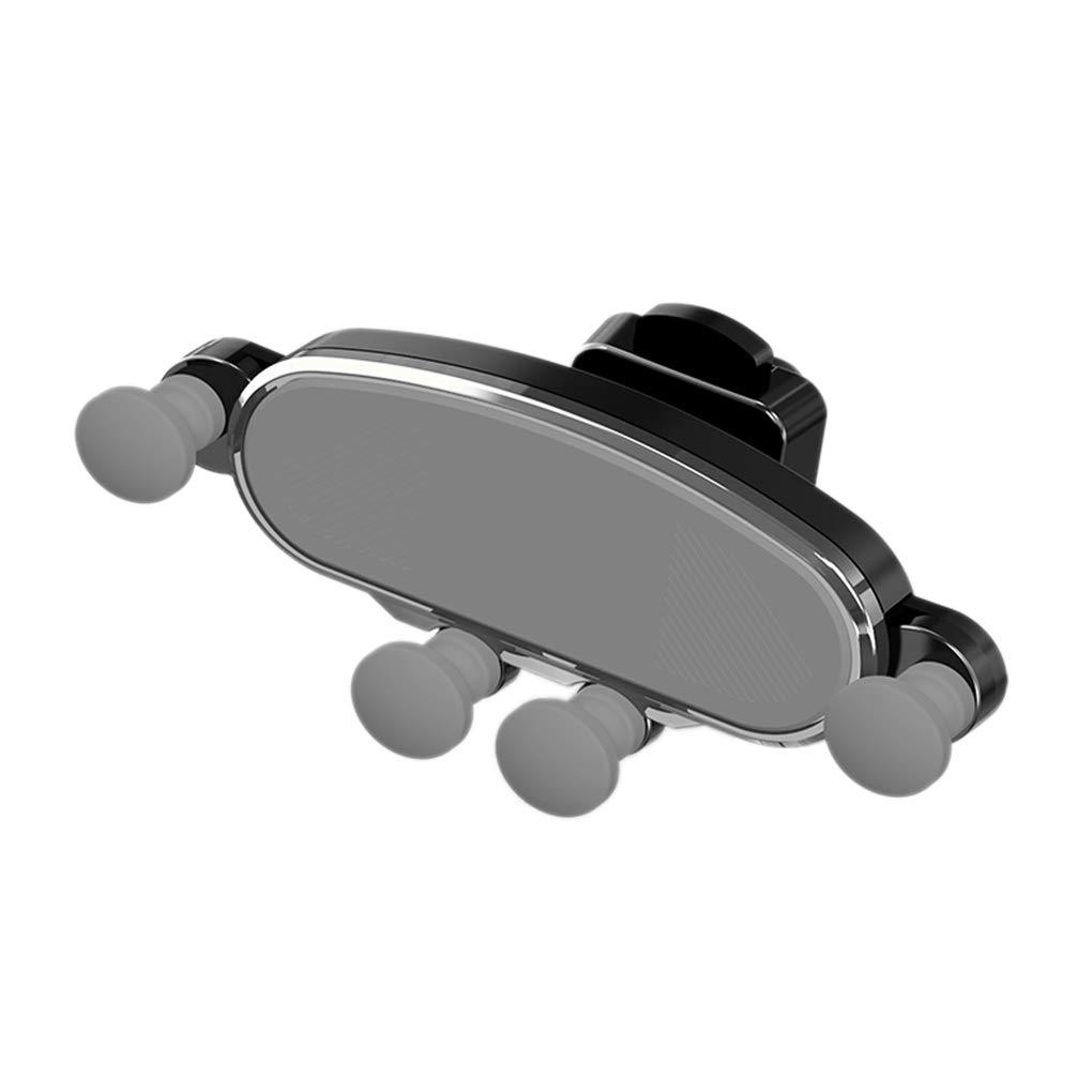 Zerama Voiture T/él/éphone Titulaire capteur de gravit/é t/él/éphone Mobile Support Grille da/ération Cellulaire Support Berceau