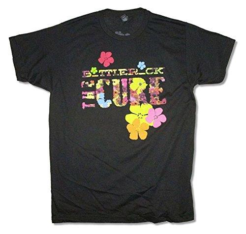 The Cure Bottle Rock Event Black T Shirt Adult (M)