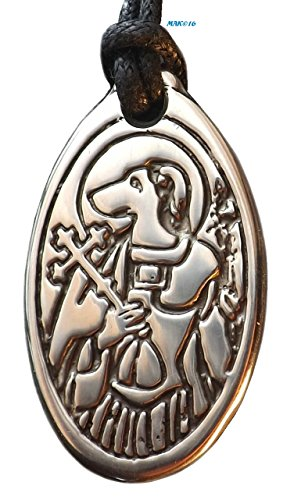 St. Christopher - Patron Saint of Dogs and Travelers - Pewter Pendant Jewelry - for People or Pets