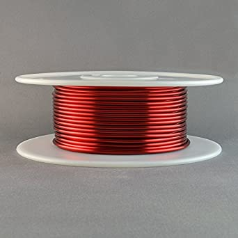 Magnet wire 12 gauge awg enameled copper 100 feet coil winding heavy magnet wire 12 gauge awg enameled copper 100 feet coil winding heavy build red keyboard keysfo Image collections