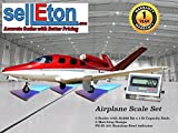 Selleton Selleton Airplane Scale Kit With Matching Ramps 7500 Capacity / Portable!