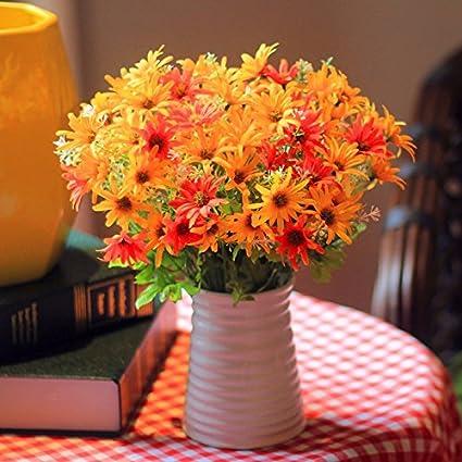 Flores De Seda Plástico Seco Paisley Haz Simulación Flores