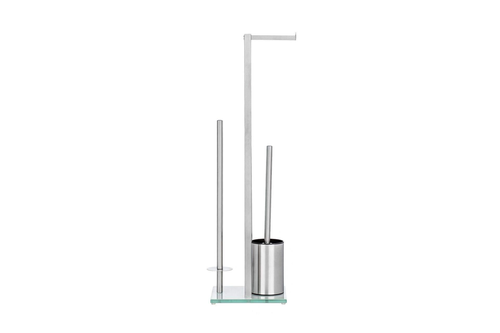 Jiallo WE-THFY01 Toilet Brush Set, Standard, Silver by Jiallo