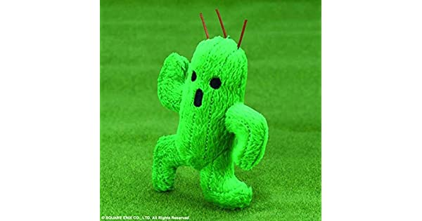 Amazon.com: Square Enix Final Fantasy: Cactuar Mini Mascota ...