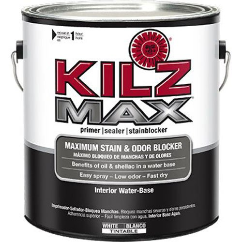 Kilz Latex Primer (KILZ MAX Maximum Stain and Odor Blocking Interior Latex Primer/Sealer, White,)