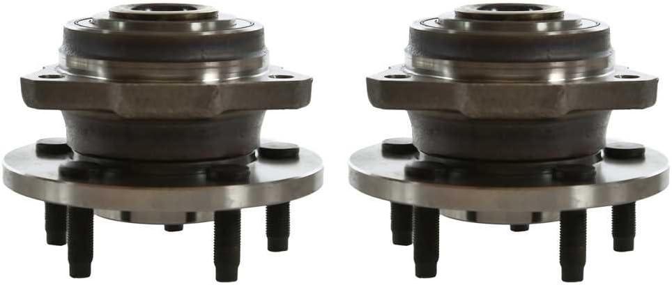 Prime Choice Auto Parts HB613180PR Front Pair 2 Wheel Hub Bearing Assemblies 5 Stud