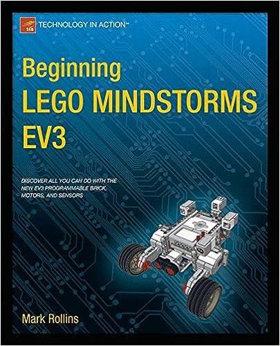 Beginning LEGO MINDSTORMS EV3: (B&W): Mark Rollins: 9781430264361 ...