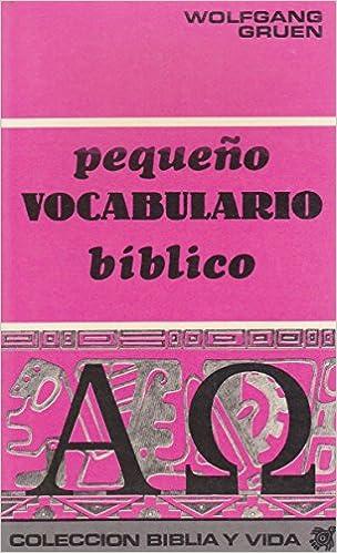 Pequeño Vocabulario Bíblico