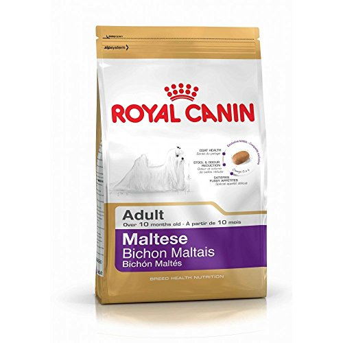 Royal Canin Maltese 24 Canine Adult Dry Dog Food 1.5kg (3.3 pounds)