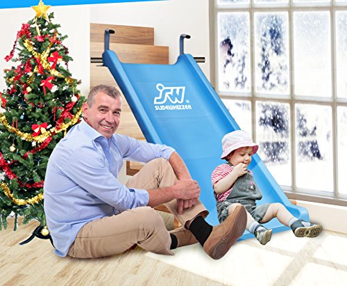 Slide Whizzer Stair Slide for Kids  - Indoor, Outdoor Fun Playground Equipment - Toddler Slide - Play Toys for Toddlers by SLIDEWHIZZER