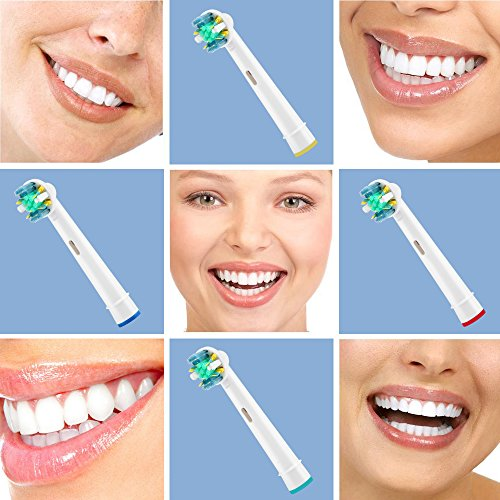 Toothbrush Replacement Heads Refill for Oral-B Electric Toothbrush Pro 1000 Pro 3000 Pro 5000 Pro 7000 Vitality Floss Action,8 Count By Sekmet by Sekmet (Image #6)
