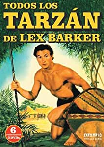 TODOS LOS TARZÁN DE LEX BARKER (6 PELICULAS EN 3 Dvds)