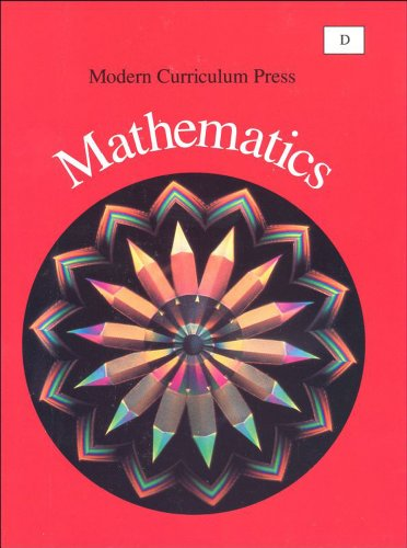 Modern Curriculum Press Mathematics, Level D (Grade 4)