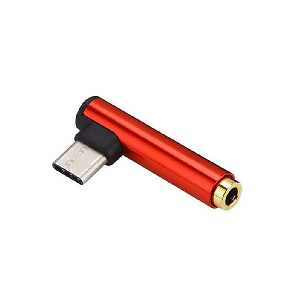 Crewell - Adaptador USB 3.1 tipo C a jack de 3,5 mm para ...