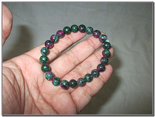 Bracelet Anyolite Metaphysical Confidence Prosperity