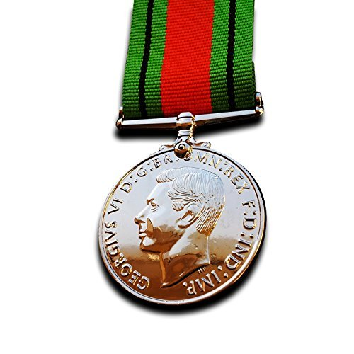 Goldbrothers13 Military Medal Defence Medal WW2 Defence Service Civilian Service Campaign Medal Repro