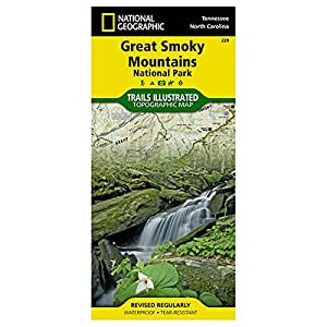 Trails Illustrated Great Smoky Mountains National Park