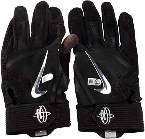 Charlie Blackmon Colorado Rockies Game-Used Black Batting Gloves vs. Philadelphia Phillies on September 24, 2018 - Size 2XL - Fanatics Authentic ()