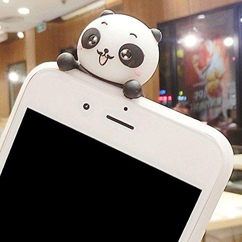 Wkae Drei Pandas Muster 3D Lovely Papa Panda Dropproof Schutzmaßnahmen zurück Fall Fall für iPhone 6s Plus ( Size : Ip6p3524c )