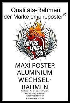 Fussball Plakat Poster Druck 2 St Posterleisten Alu 63 cm Fu/ßball Players 17//18 Manchester United Gr/ö/ße 61x91,5 cm