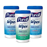 PURELL Hand Sanitizing Wipes - Variety Pack, 40 Count Canister (Case of 3) - 9121-03-EC