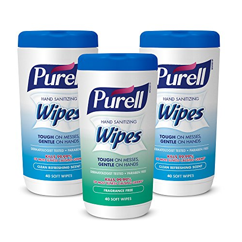 PURELL Hand Sanitizing Wipes 9121 03 EC