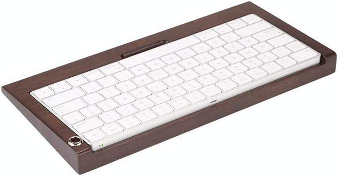 ASHATA Soporte de Teclado inalámbrico Bluetooth Inclinado de ...