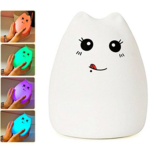 Lafedy Multicolor Silicone Rechargeable GreedyCat product image