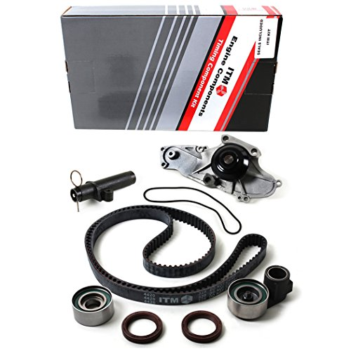 Belt Hydraulic - NEW ITM329HTWP (197 Teeth w/ 20mm Width) Timing Belt Seal Kit, Hydraulic Tensioner (Auto Adjuster), & Water Pump Set