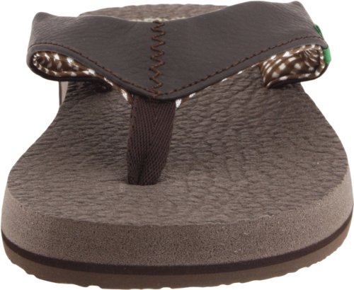 flop Brown Flip Sanuk Mat Yoga Dark Women's qnxwCXSIC8