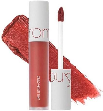 Rom&nd Zero Velvet - Tinte para labios, 5,5 g, n.º 1, fusión ...
