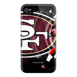 Beautiful San Francisco 49ers Covers For Iphone 4/4s, Protective Cases Covers