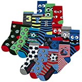Boys Novelty Cotton Rich Socks (9 & 18 Pairs Multipack) Dinosaurs Space Monster Skulls Football