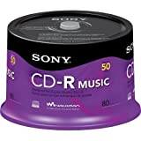 Sony Music CD-R 80 Min 700 MB
