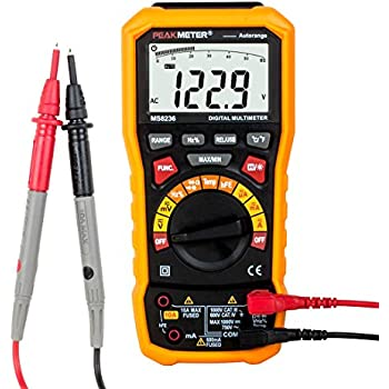 uxcell TRMS Digital Multimeter - Auto Ranging, Voltage