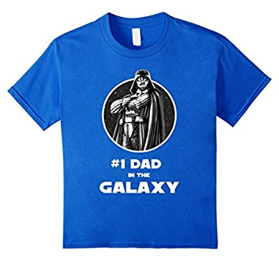 Star Wars Father's Day Darth Vader Best Dad Graphic T-Shirt