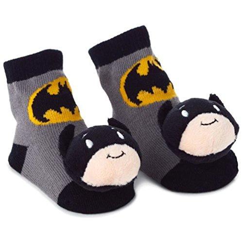 Batman itty bittys Baby Rattle Socks Baby Clothes