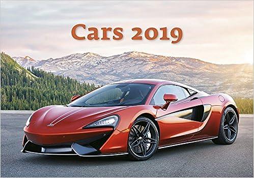 Car Calendar Calendars 2018 2019 Wall Calendar Exotic Car