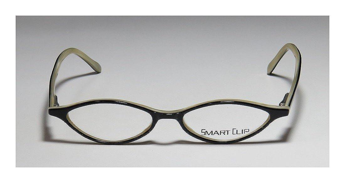 20890bc79c59 Amazon.com  SmartClip Ksc918 For Ladies Women Cat Eye Full-Rim Shape  Sunglass Lens Clip-Ons Spring Hinges Eyeglasses Eyeglass Frame (48-16-140