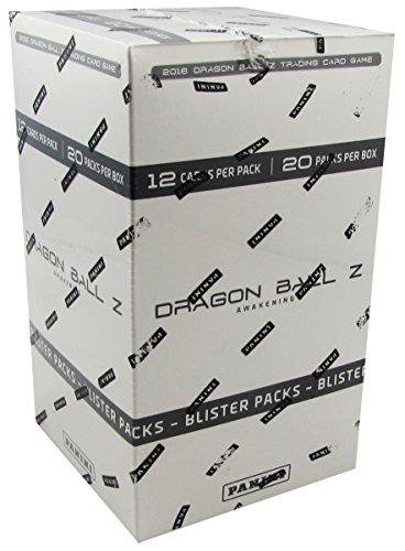Dragon Ball Z Collectible Card Game Awakening Blister Pack Lot, 20 Blister Packs In Each Box! All (Sealed Blister Pack)