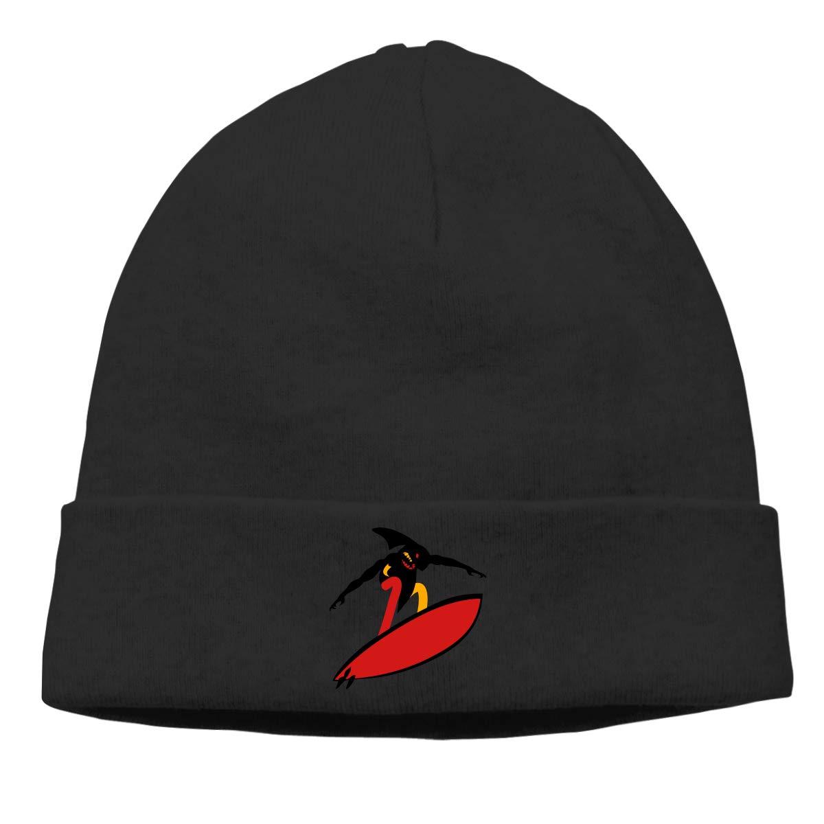 Shark Man Surf Cap Men Winter Summer Warm /& Stylish Slouch Beanie Hats Knit Cuff Beanie