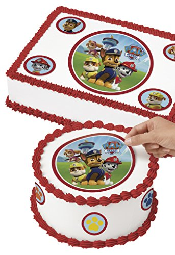(Wilton 710-7910 PAW Patrol Edible Images Cake Decorating Kit, Multicolor)
