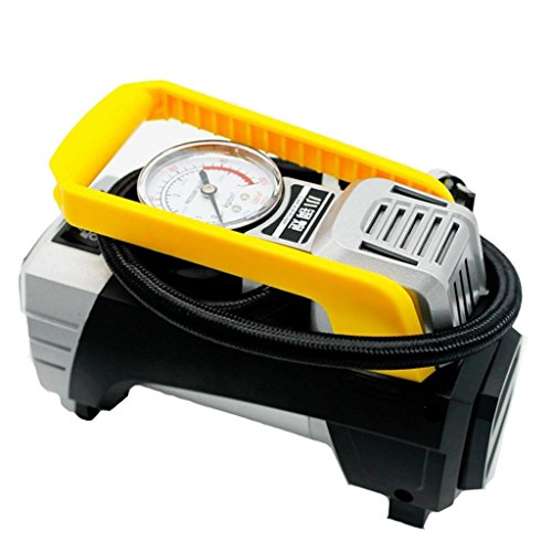 MagiDeal Multifunction 12VCar Air Compressor Pump Pointer Display Inflator With Light by Unknown (Image #3)