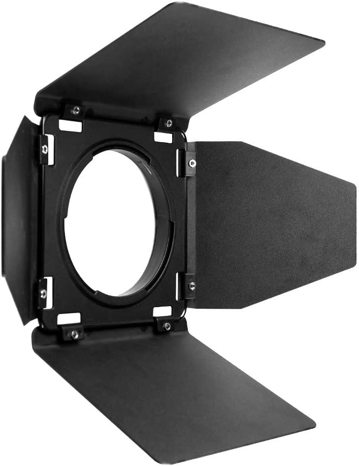 Godox BD-08 Barn Door and Color Filter for Godox AD400Pro Outdoor Flash Strobe Light Monolight