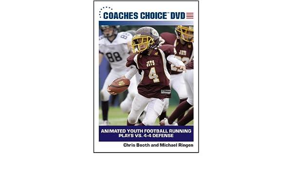 Amazon Com Animated Youth Football Running Plays Vs 4 4 Defense