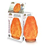 Himalayan Glow 1002 large Salt lamp, ETL Listed Himalayan Salt lamp, 8-11 lbs by WBM