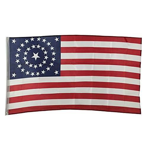 3' x 5' Polyester Flag with Brass Grommets (Union Civil War 38 Stars) (Flag Union)