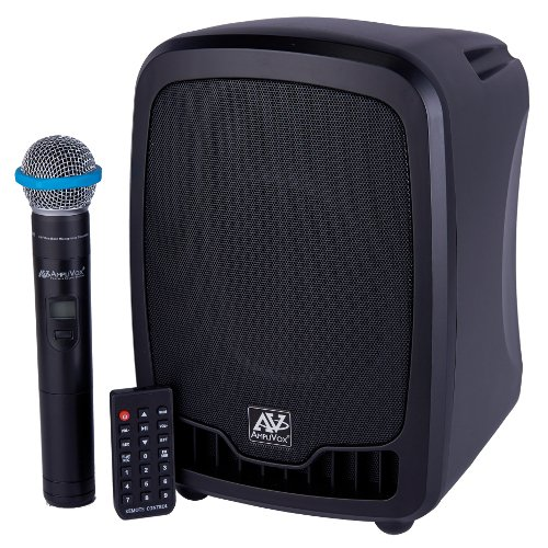 Amplivox 16 Bluetooth Wireless Portable Media Player PA System SW725 from Amplivox